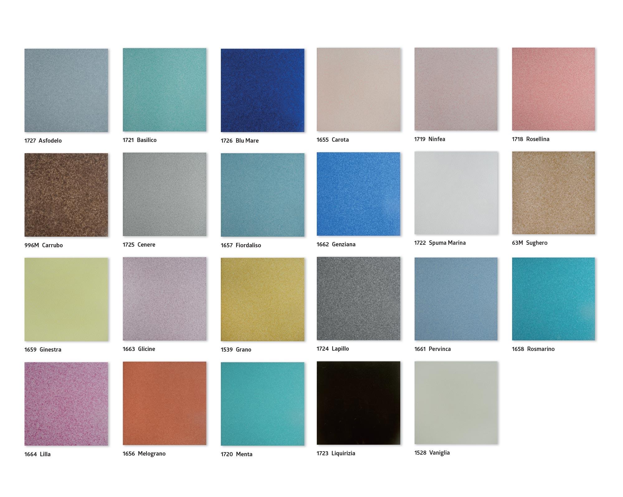 trasparenze marine - 20x20 - colori - slide
